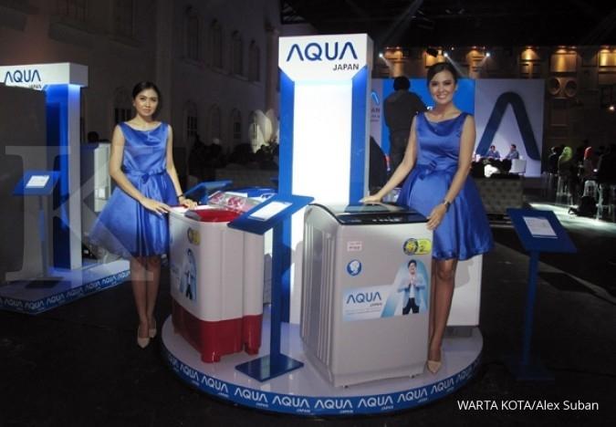 Mesin cuci AQUA Japan kejar pangsa pasar 13%