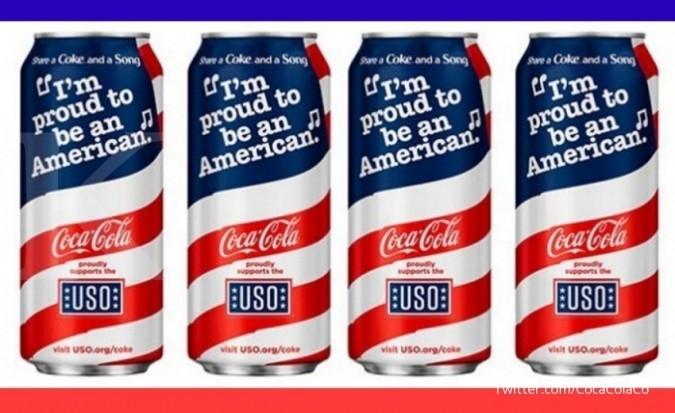 Nasionalisme Amerika Pada Sekaleng Coca Cola