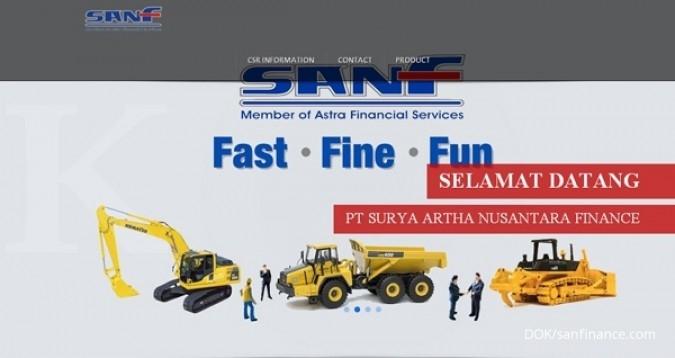 SAN Finance tawarkan obligasi 8%-9,25%