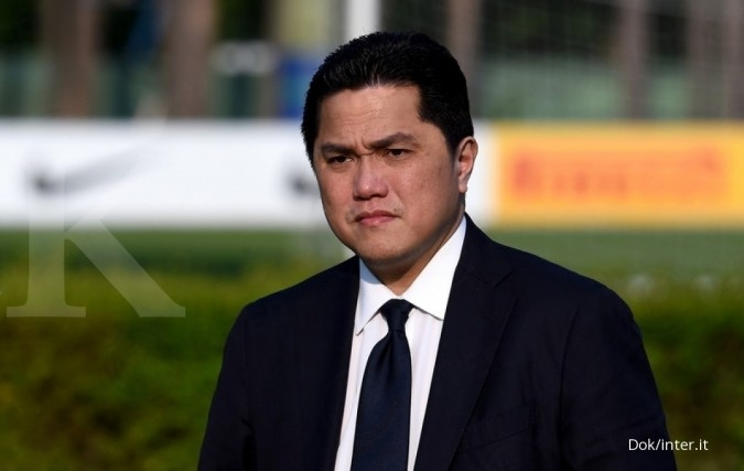 Erick Thohir masuk via Evergreen