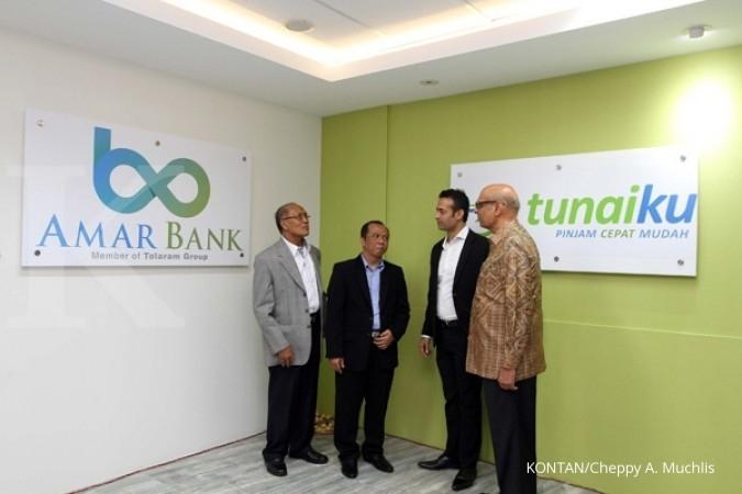 Amar Bank target kontribusi Tunaiku Rp 200 miliar