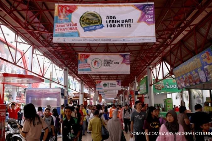 Shuttle bus gratis disediakan menuju Jakarta Fair