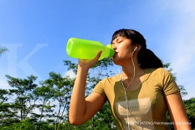 Berapa banyak kebutuhan cairan saat berolahraga?