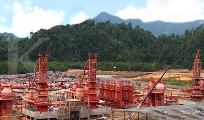Smelter rampung, DKFT mulai ekspor feronikel