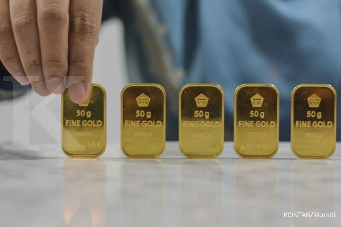 Harga emas mumbul dari level terendah dua pekan