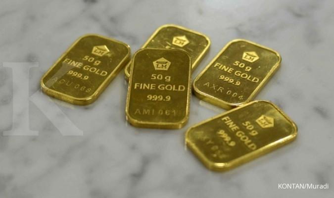 Turun Rp 1.000, emas Antam seharga Rp 612.000