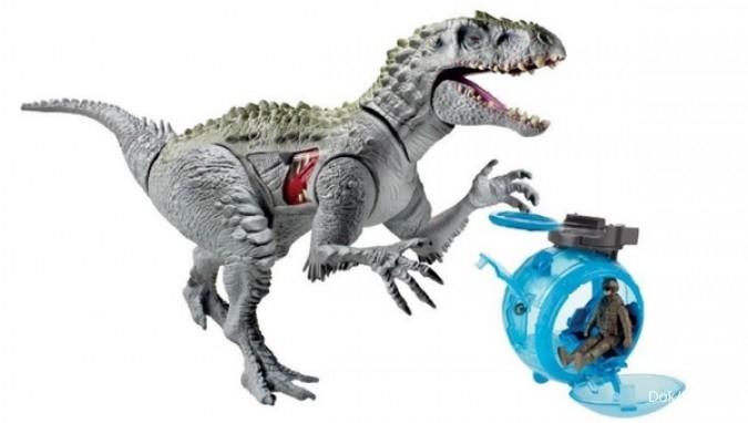 Tahun depan, Mattel produksi mainan Jurassic