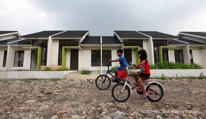 Bunga KPR tinggi, penjualan properti lambat