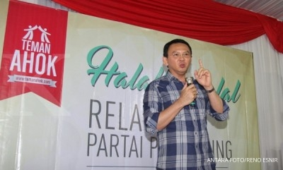 Ahok tells Megawati he won't run as independent