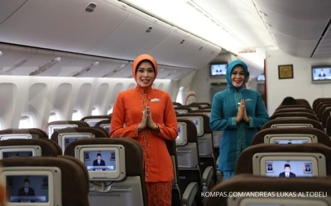 Kursi untuk penerbangan haji Garuda berubah