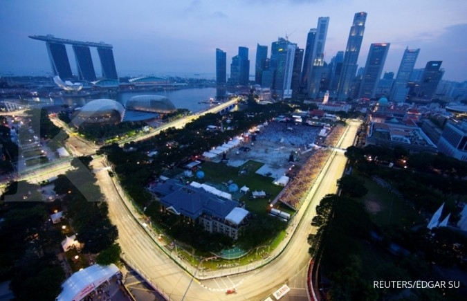 Ekspor Singapura anjlok