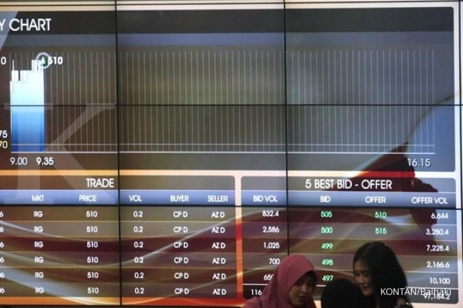 Satu lagi emiten saham tumbang