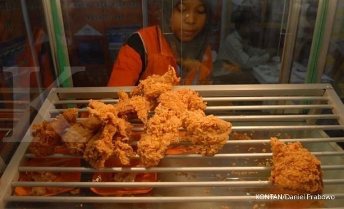 Konsumsi daging unggas berpotensi naik