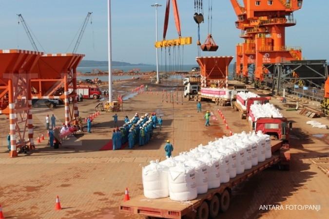 Well Harvest ekspor 1,1 juta ton alumina