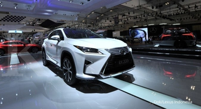 Jurus Lexus antisipasi penurunan jualan sedan