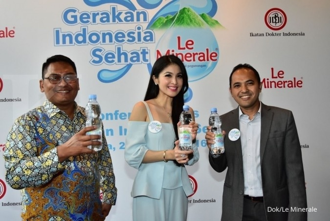 Le Minerale dan IDI kampanye hidup sehat