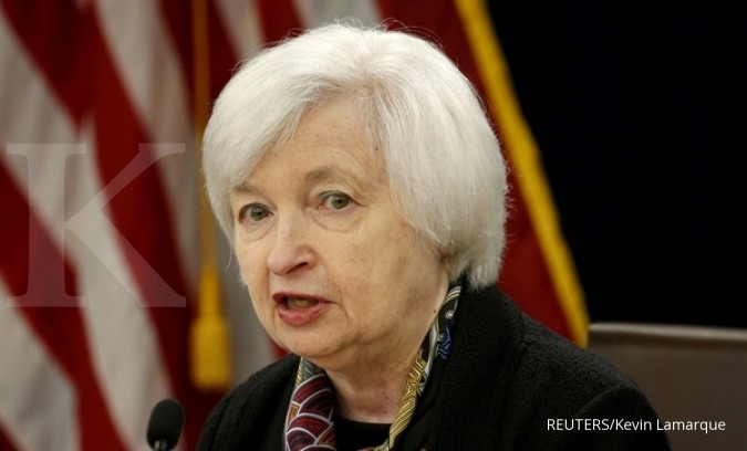 Yellen beri sinyal bunga The Fed naik