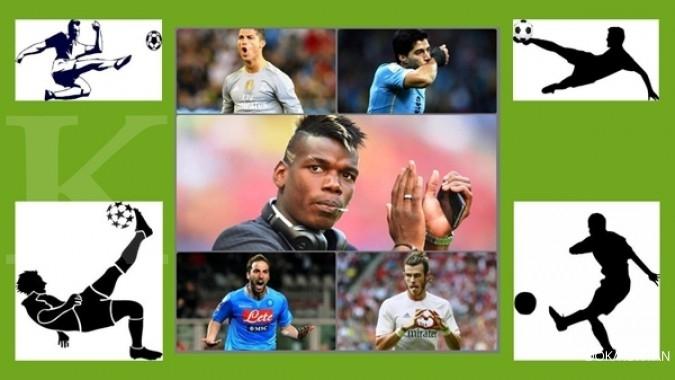 5 Pemain bola dengan transfer termahal di dunia