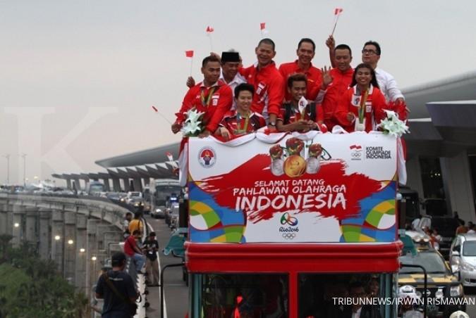 Jokowi: Terimakasih sebesarnya pada atlet Rio