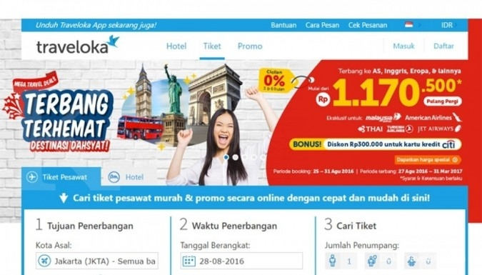 Traveloka incar Brunei & Laos