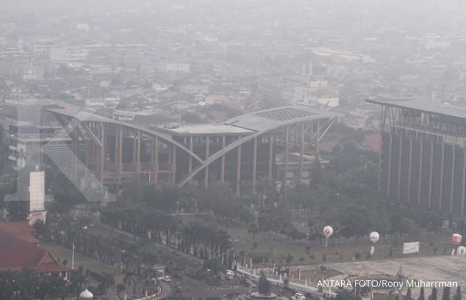 Kabut selimuti wilayah Pekanbaru