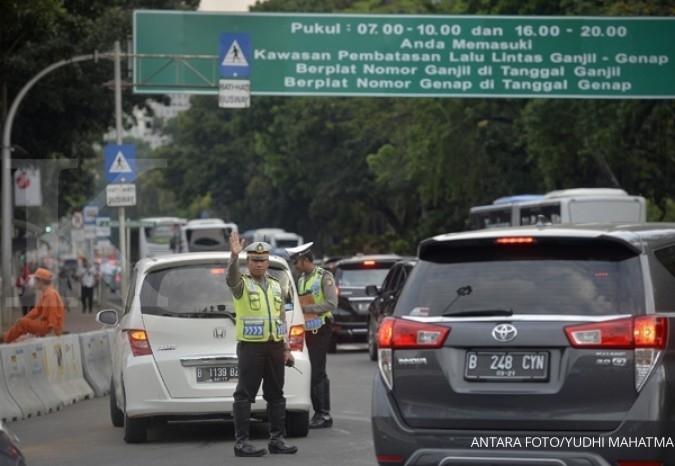 Demo, taksi online tetap harus patuhi ganjil-genap