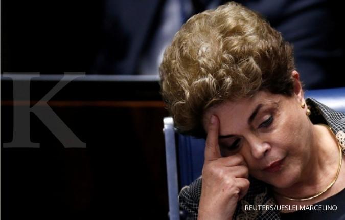 Senat Brasil memakzulkan Presiden Rousseff