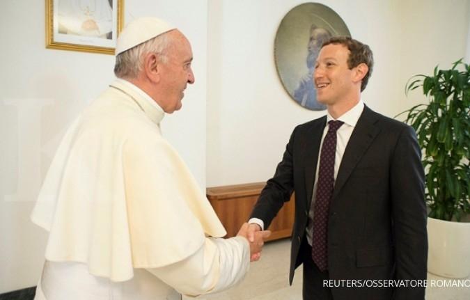 Bertemu Paus, apa yang diberikan Mark Zuckerberg?