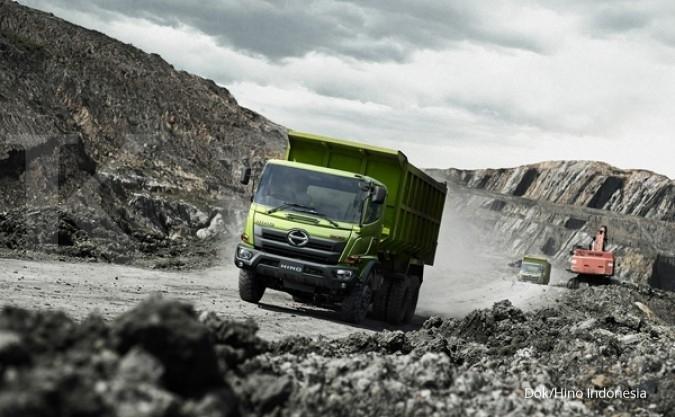 Penjualan truk ngebut didorong bisnis konstruksi