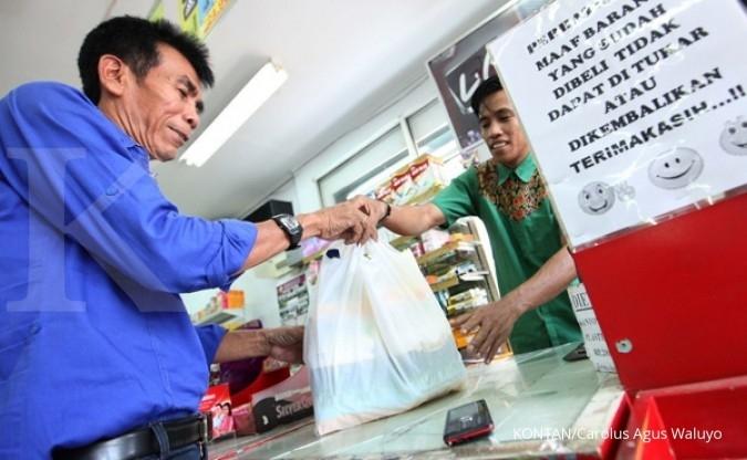 Plastik berbayar tekan impor US$ 11 juta