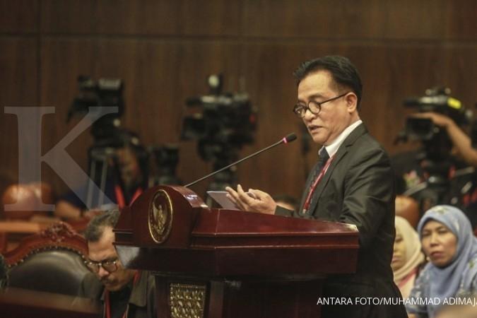 Jokowi akui meminta Yusril Ihza Mahendra untuk jadi kuasa hukumnya dan Ma'ruf Amin