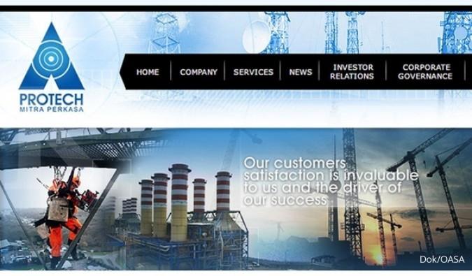 OASA Targetkan Pertumbuhan 20%, Protech Mitra Perkasa Mengincar Proyek Listrik
