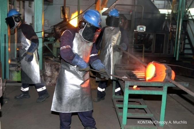 Antam: Smelter anoda tunggu kejelasan Freeport