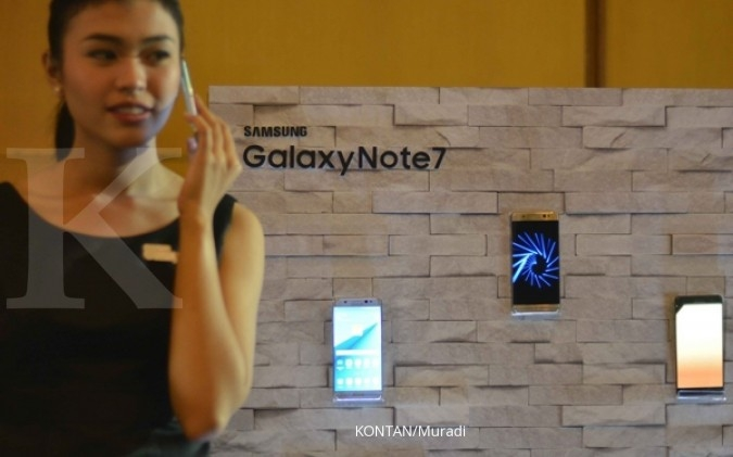 Samsung rilis lagi Note 7