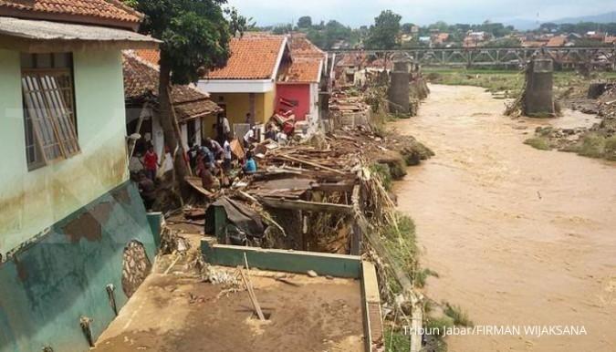 PUPR kebut infrastruktur pengendali banjir Garut