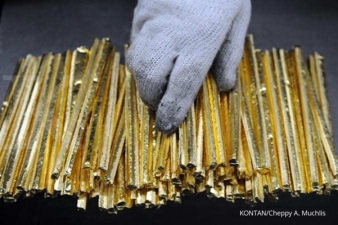 Harga Emas Antam Hari Ini Turun Jadi Berapa