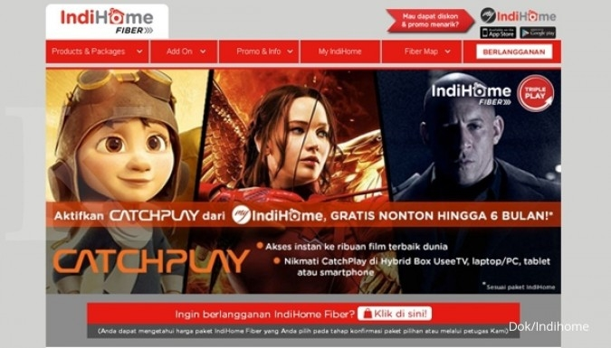 IndiHome gandeng HOOQ perkuat layanan video