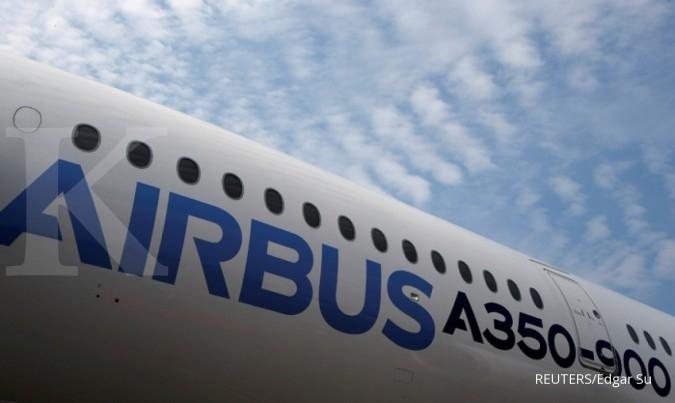 Ini alasan laba Airbus terjun 63% tahun lalu