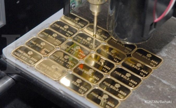Harga Jual Dan Beli Emas Antam Turun Rp 1000