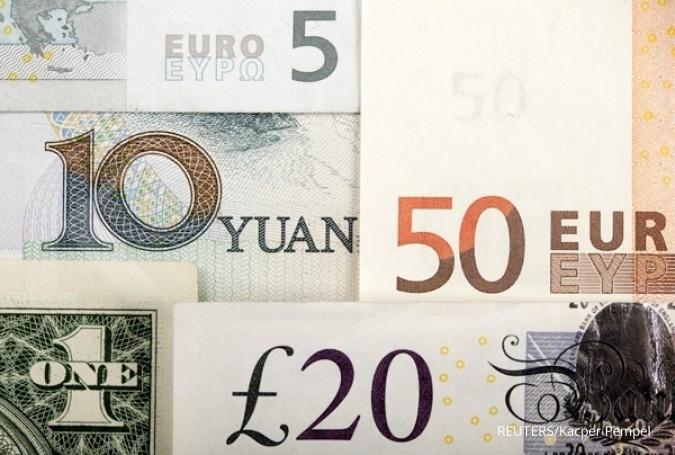 Euro tak berkutik di hadapan yen