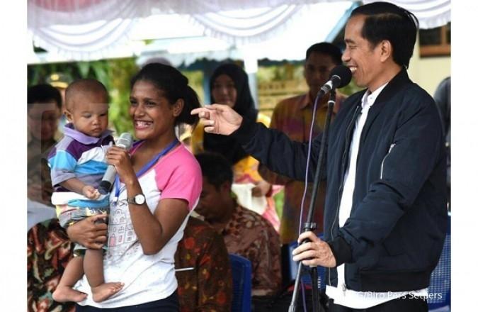 #Happy56thJokowi ramaikan ulang tahun Jokowi