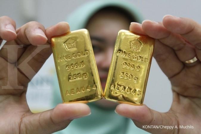 Harga Emas Antam Hari Ini Naik Rp 2 000 Per Gram