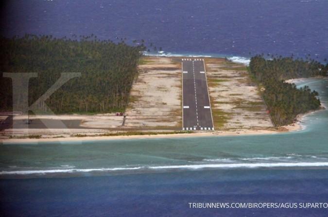Bandara beroperasi, ekonomi Miangas akan meningkat