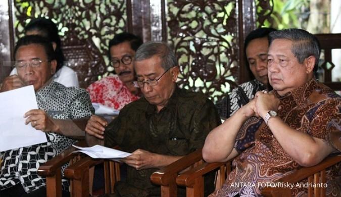 Tiba-tiba, SBY datangi kantor Menteri Wiranto