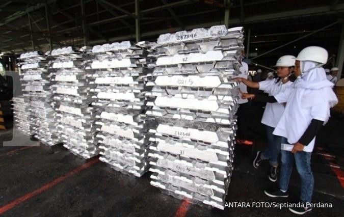 Inalum tak lagi impor alumina mulai 2025
