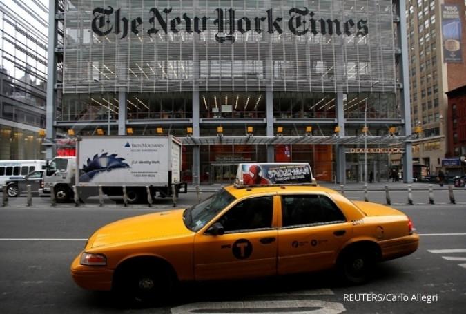 Salah satu akun New York Times diretas