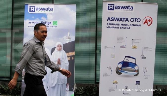 Klaim Aswata per November turun 20%