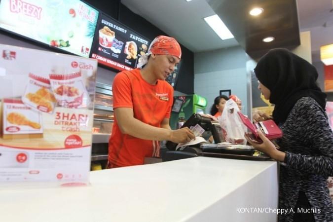 Fast Food goreng lagi menu ayam keju