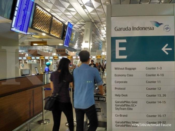 Garuda akan geser rute internasional ke Terminal 3