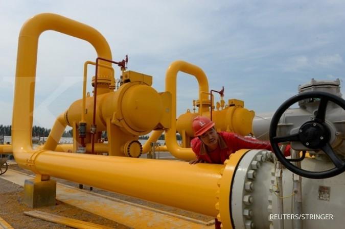 Prediksi cuaca panas mengangkat harga gas alam